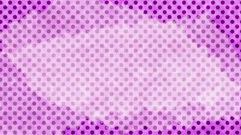 Polka dot background-purpleD Animation