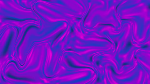 The wavy surface is purple. The violet surface shimmers in different shades Live Action