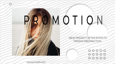 Promo Abstraction After Effects Template