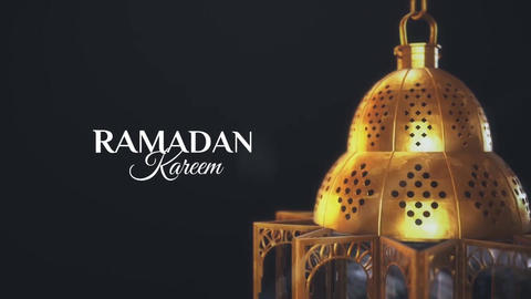 Ramadan Kareem Greetings After Effects Template