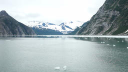 Fjord Alaska ice glacial ice float P HD 8359 Live Action