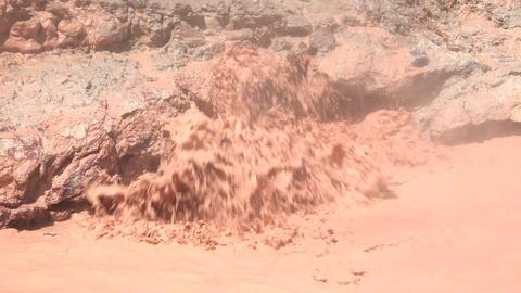 Fountain Paint Pot muddy bubbler Yellowstone 4K Footage