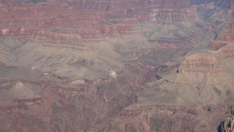 Grand Canyon beautiful cliff lookouts pan 4K Footage