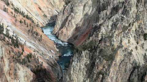 Grand Canyon river of Yellowstone P HD 2406 Footage