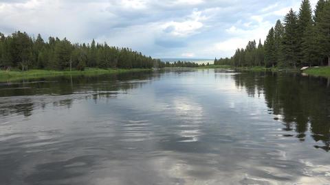 Henrys Fork River Island Park Idaho 4K 021 Footage