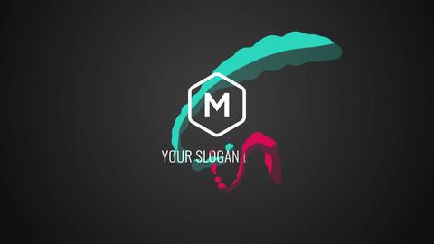 Liquid Logo Reveal Premiere Pro Template