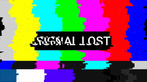 Lost Signal Video Clip Animation