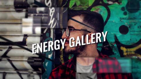 Energy Drive Slideshow Premiere Pro Template