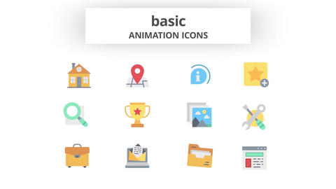Basic - Animation Icons Motion Graphics Template