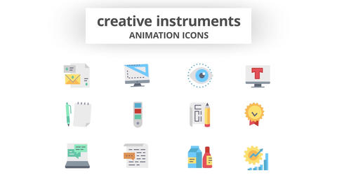 Creative Instruments - Animation Icons Motion Graphics Template