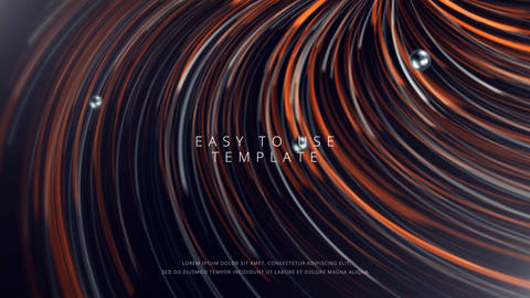 Abstract Lines Titles After Effects Template