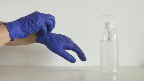 hand sanitizer sanitiser gel clean hands hygiene coronavirus spread prevention Live Action