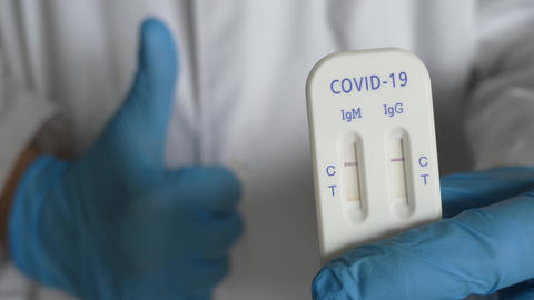 antibody immunological serological quick covid covid-19 test negative thumb Live Action
