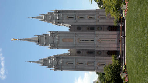 LDS Temple verticle P HD 0697 Footage