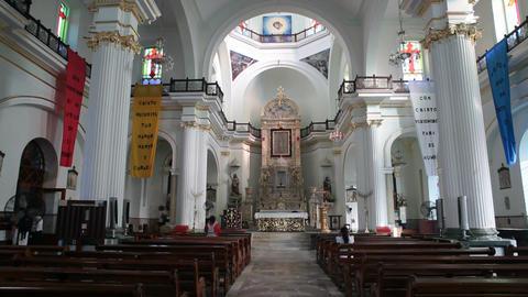Lady Guadalupe Church inside altar P HD 4640 ภาพไม่มีลิขสิทธิ์