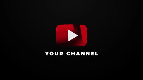 Youtube Channel Intro Motion Graphics Template