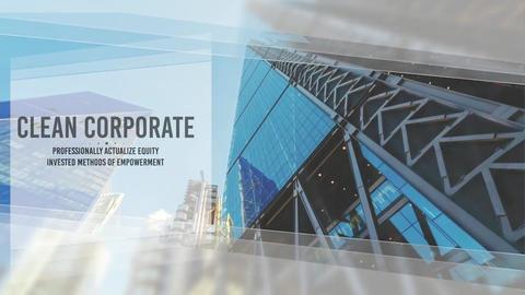 Corporate Clean Intro Slideshow Plantilla de Apple Motion