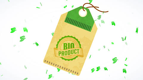 unique recycled coupon towards recognize bio vital products for nurture industry manufacturers Animation