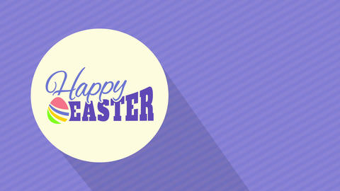 soft cheerful easter invitation for youth embryo pursuit party and diner with minimalistic shape and Animation