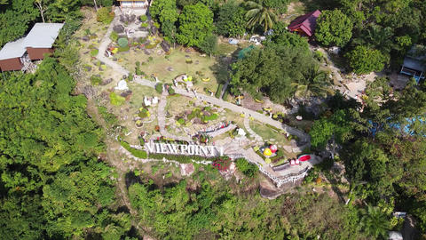 Phi Phi Don from viewpoint number one, Phuket province, Thailand Live Action