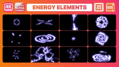 Energy Elements Animation