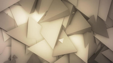 Abstract Pyramids VJ Loop Animation