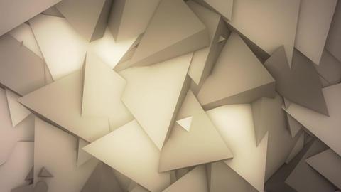 Abstract Pyramids VJ Loop Animation