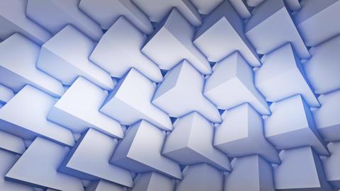 Abstract Wall From Pyramids VJ Loop Animation