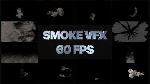 VFX Smoke Pack After Effectsテンプレート