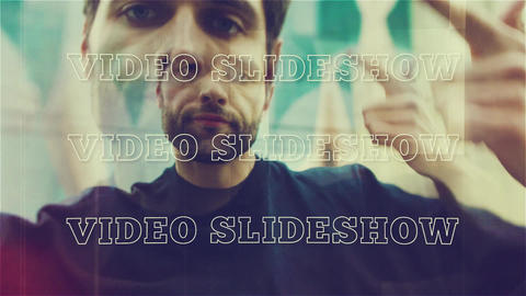 Video Slideshow After Effects Template