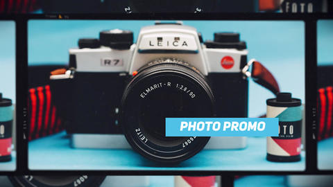 Photo Promo Premiere Pro Template