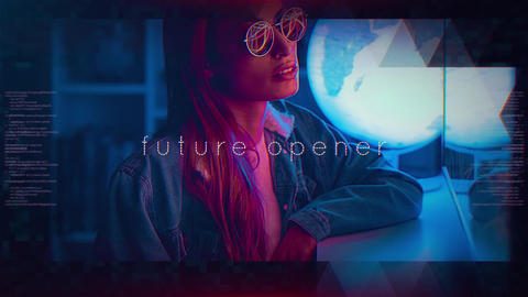 Future Opener After Effects Template