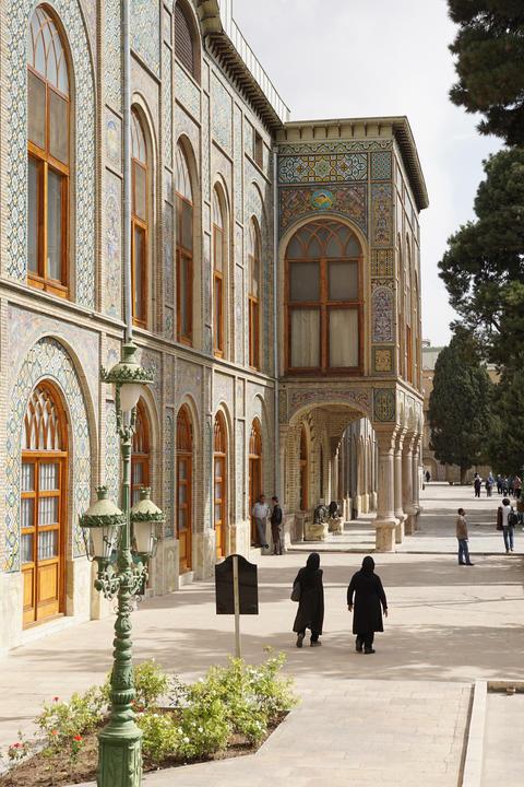Golestan Palace, Teheran, Iran Photo