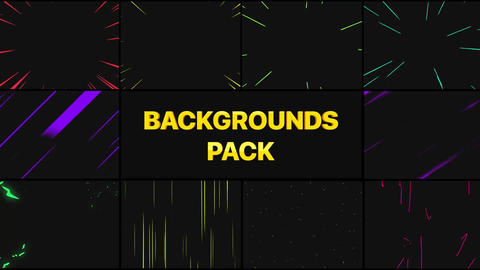 Speed Backgrounds AE 模板