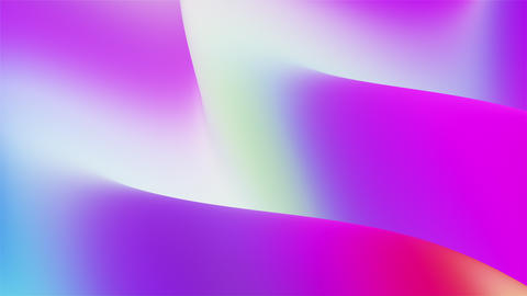 3D Vibrant Colorful Gradient Flowing Waves Animation