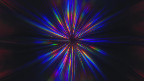 Dark Shining Chromatic Prism Rays CG動画