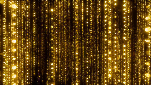 Awards Golden Particles Background Animation