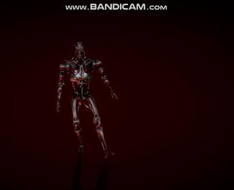 Terminator t 800 animation model 3D Model