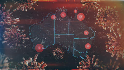 Mapping Epidemic Outbreak in Australia Animation