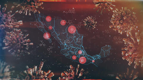 Mapping Epidemic Outbreak in Mexico Animation