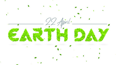 earth day promotional advertising towards create awareness of our home and advertise environmental Animation