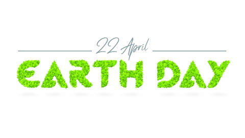 earth day promotional ad to create awareness of our home and promote environmental conservation and Animation