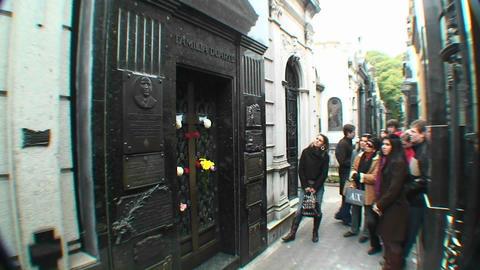 Buenos Aires, Eva Peron, grave Footage