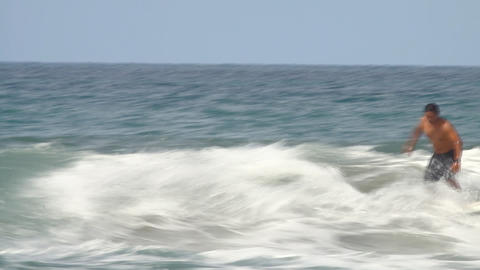 surfer in action Stock Video Footage