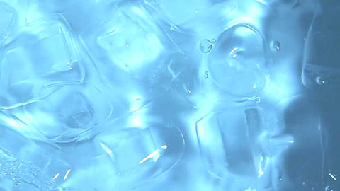 Abstract frozen pattern suggesting ice cubes Footage