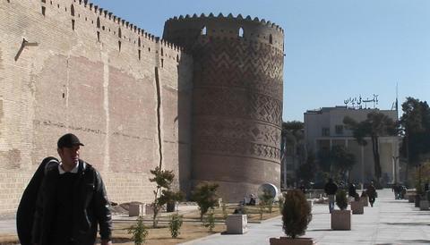 The Arg of Karim Khan in Shiraz, Iran Stock Video Footage