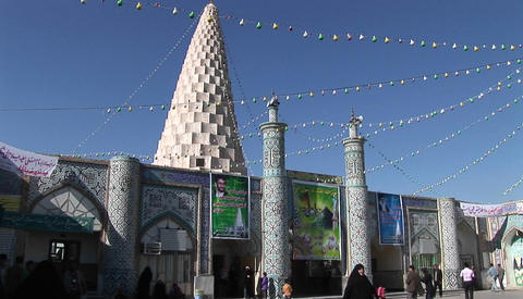 The Tomb of the Prophet Daniel in Susa, Iran Footage