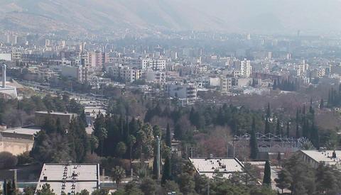 A modern city in Iran Footage