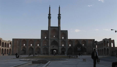 The ImamÂ's Mosque in Tehran, Iran Stock Video Footage