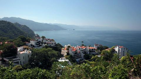 Puerto Vallarta coast resorts P HD 4585 Footage
